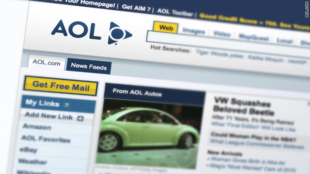 Independent of Time Warner as of Wednesday, AOL will look to advertising, blogs as a new business model.