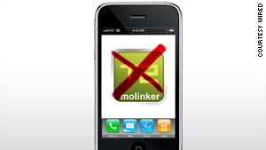 Apple removed more than 1,000 Molinker-made apps from its app store after complaints.