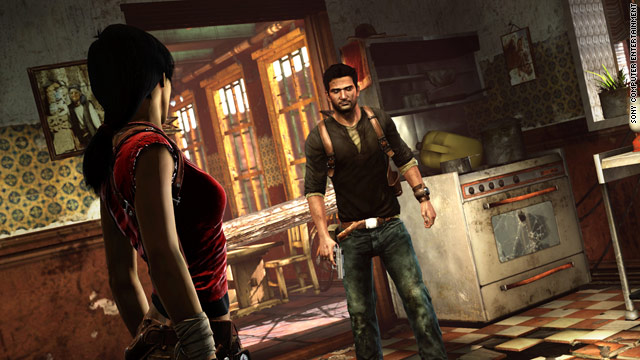 "Action game ""Uncharted 2: Among Thieves,"" from Sony's Naughty Dog studio, provided the most memorable adventure in 2009."