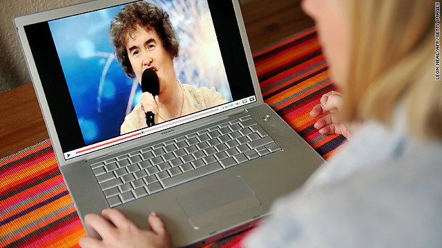 "Susan Boyle's ""Britain's Got Talent"" performance was YouTube's most popular video of 2009."