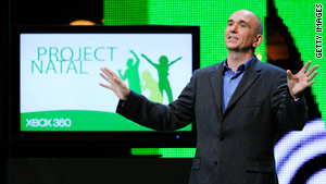 In June, Microsoft took E3 by storm with the formal unveiling of its futuristic controller system, Project Natal.