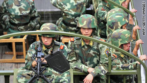 Tight security was imposed in Xinjiang in the wake of the violence.