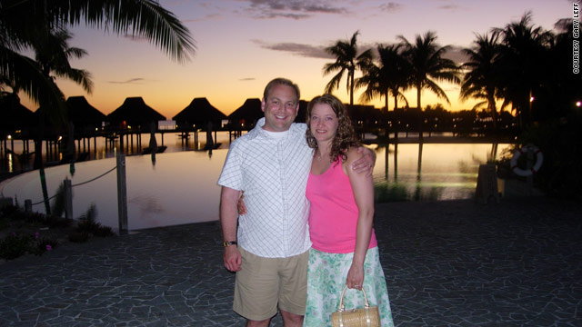 Gary Leff and his wife, Shanna Follansbee, spent 670,000 airline and hotel points when they got married.