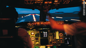 Airline pilots are required to pay continuous attention to their instruments during flight.