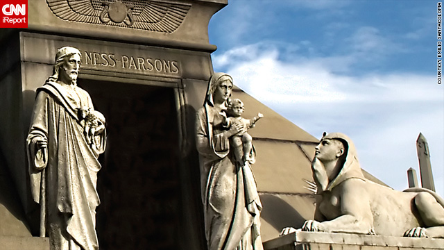 Green-Wood Cemetery in Brooklyn, New York, hosts tours and events.