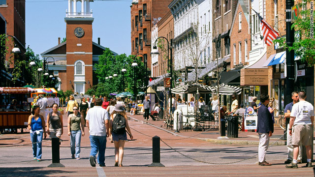 Towns like Burlington, Vermont, naturally cater to students, but they can be readily enjoyed by those with no homework.