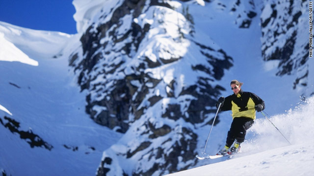 Whitewater Ski Resort is just outside of Nelson, a historic gold boomtown.