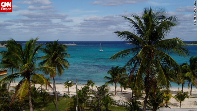 iReporter Lulis Leal snapped this photo of a Christmas vacation she took at at Paradise Island in the Bahamas.