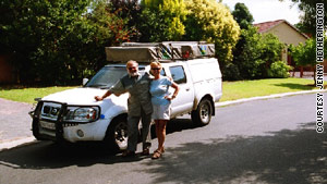 Jenny Hetherington and Gary Meitner embark on their African adventure.