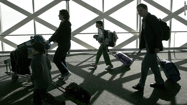 Carry-ons could clog holiday travel