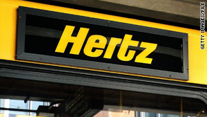 A customer found a surprise charge on her credit card statement for damage to a Hertz car she rented in Scotland.