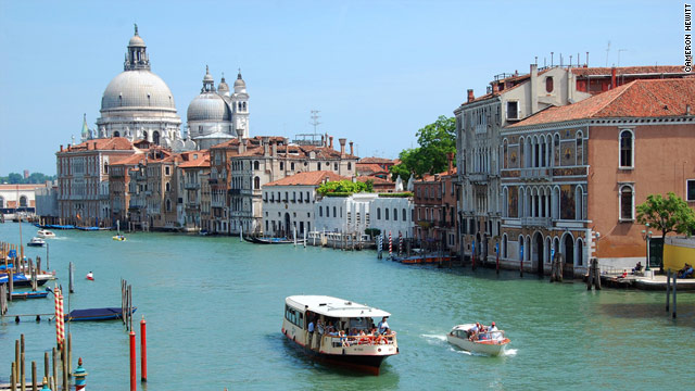 Taking a city's public, above-ground transportation -- such as Venice's vaporetti -- is a great way to see the sights.