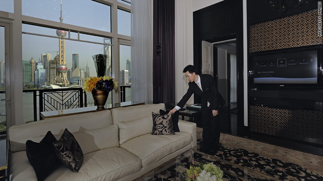 The new Peninsula Shanghai sits on a stretch of the historic Bund.