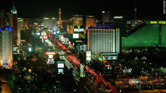 "This season's finale of reality TV series ""The Amazing Race"" took place in Las Vegas, Nevada."