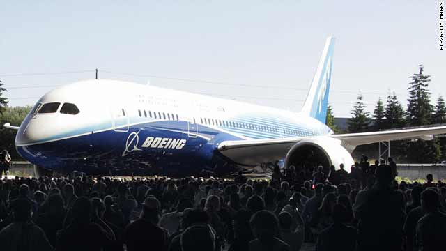Boeing Dreamliner ready for flight