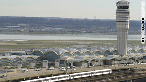 Travelers at airports such as Reagan National in Washington might be in for a long weekend.