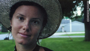An undated family photo shows Sarah Shourd, one of three U.S. hikers detained in Iran since July 31.