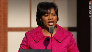 Bernice King is one finalist to be SCLC president. The other is former Arkansas Court of Appeals Judge Wendell Griffen.