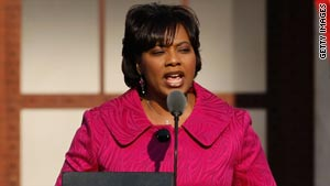 Bernice King has been elected president of the Southern Christian Leadership Conference.