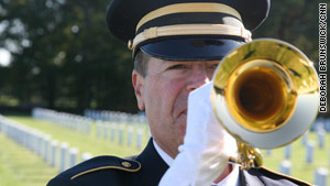 The bugler's final 'thank you'