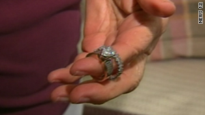 A man, along with a sanitation crew, sifted through tons of trash to find the wedding rings he accidentally tossed.