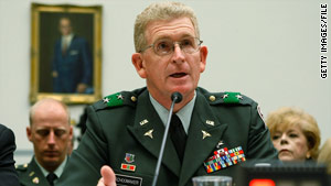 Lt. Gen. Eric Schoomaker, the Army Surgeon General, says soldiers in Afghanistan are more prepared for stress.