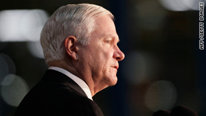 Defense Secretary Robert Gates told the Supreme Court on Friday that he was issuing an order to block the release.