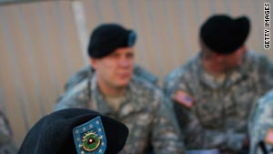 The number of suicides in the Army so far this year have topped the number from 2008.