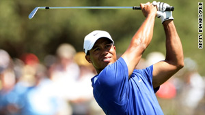 Golfer Tiger Woods, 33, has won 93 tournaments since going pro in 1996.