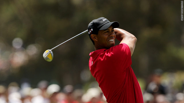 Tiger Woods hit a fire hydrant with his SUV early Friday near his home, according to a police report.