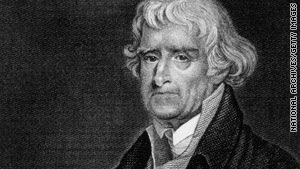 An 1808 letter from Thomas Jefferson turns up during archiving by a University of Delaware graduate student.