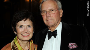 Former NBC News anchor Tom Brokaw and his wife, Meredith, were not injured in the accident.