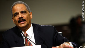 Attorney General Eric Holder says the proposal addresses  allegations the U.S. mismanaged Native Americans' money.