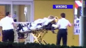Paramedics in Orange County, Florida, respond to a medical call at Tiger Woods' house.