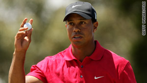 "Tiger Woods: ""After much soul searching, I have decided to take an indefinite break from professional golf."""