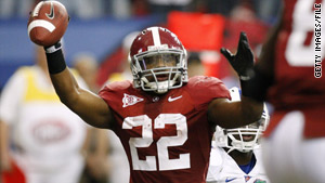 Mark Ingram is the first University of Alabama player to win the Heisman Trophy.