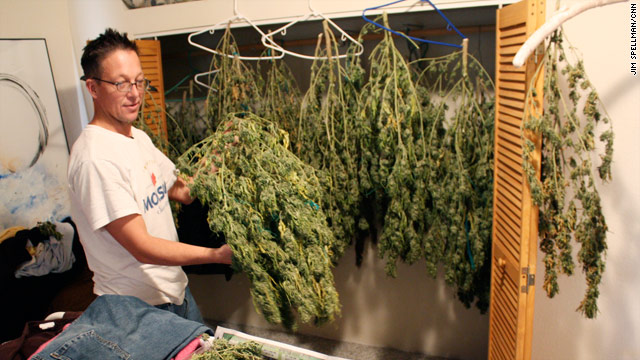 Zack Moore says he will make about $6,000 after six months of growing marijuana.