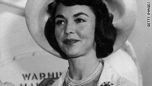 Actress Jennifer Jones, pictured in the early 1960s, received five Academy Award nominations in her 35-year film career.