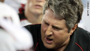 Texas Tech coach Mike Leach was fired Wednesday amid allegations of his mistreatment of an injured player.