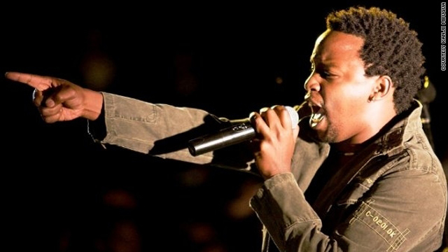 """Kanjii Mbugua calls himself a """"socially conscious musician with a strong gospel background."""""""