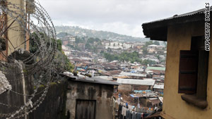 The U.S. Peace Corps will return to Freetown, Sierra Leone, after a 15-year absence.