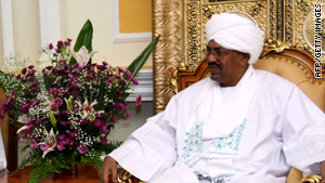 Sudanese President Omar al-Bashir is accused by the International Criminal Court of war crimes.