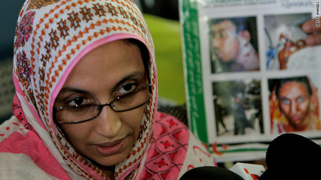 Aminatou Haidar had been on a hunger strike for 32-days, but  was finally returned home after Morocco admitted her to Western Sahara.