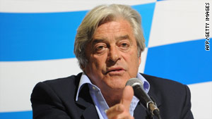 Luis Alberto Lacalle, who served as president from 1990-1995, predicted victory in the runoff.
