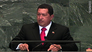 """Respect us like we respect Colombian sovereignty,"" Venezuelan President Hugo Chavez said."