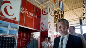 An international trade fair is on this week in Havana, Cuba.