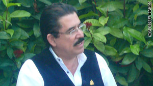 Jose Manuel Zelaya was removed from power in a June 28 coup.