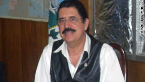 Manuel Zelaya has remained in the Brazilian embassy in Honduras since he returned from his ouster.
