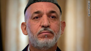Afghan President Hamid Karzai is taking part in a runoff election for his seat next week.