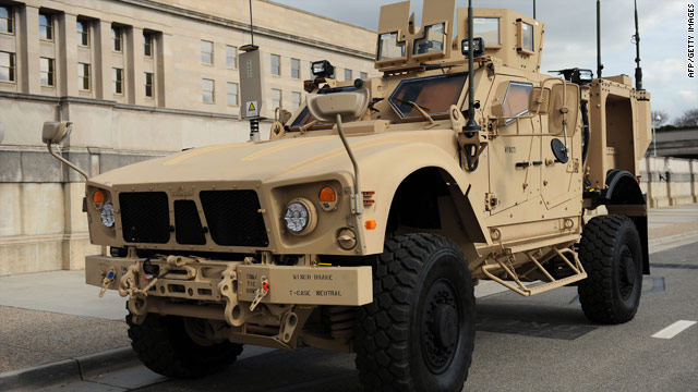 The Pentagon is rushing to build M-ATVs to protect troops in Afghanistan.